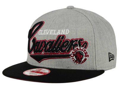 Cleveland Cavaliers New Era NBA HWC Big Heather 9FIFTY Snapback Cap