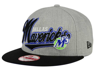 Dallas Mavericks New Era NBA HWC Big Heather 9FIFTY Snapback Cap