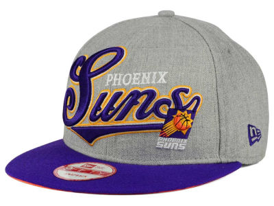 Phoenix Suns New Era NBA HWC Big Heather 9FIFTY Snapback Cap