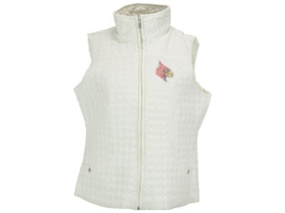 Louisville Cardinals NCAA Missy Quilted Vest