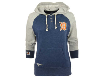 Detroit Tigers MLB Women's Strong Desire PO Hoodie
