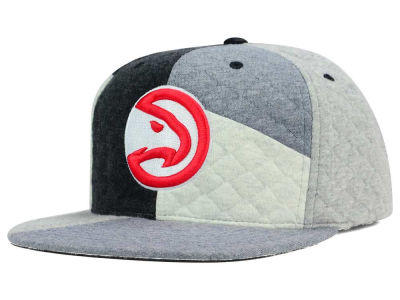Atlanta Hawks Mitchell and Ness NBA Fleece Slasher Snapback Cap