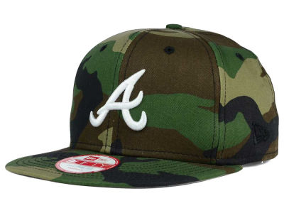 Atlanta Braves New Era MLB State Clip 9FIFTY Snapback Cap