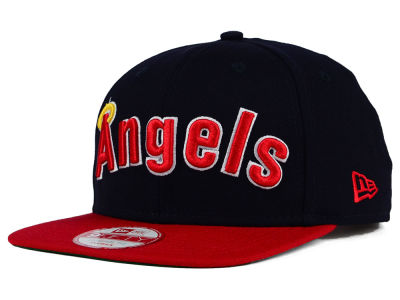 Los Angeles Angels New Era MLB XL Script 9FIFTY Snapback Cap