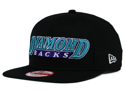 Arizona Diamondbacks New Era MLB XL Script 9FIFTY Snapback Cap