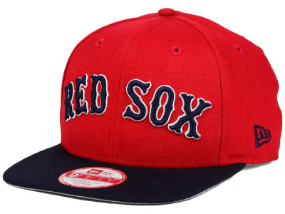 Boston Red Sox New Era MLB XL Script 9FIFTY Snapback Cap