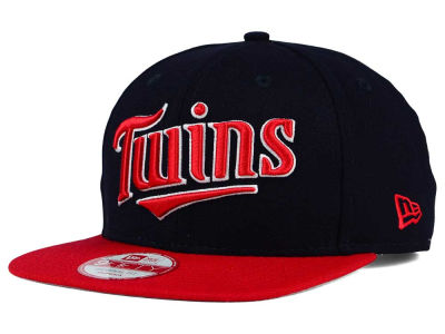 Minnesota Twins New Era MLB XL Script 9FIFTY Snapback Cap
