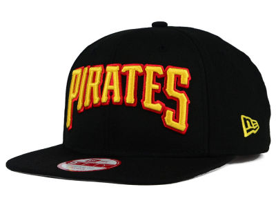 Pittsburgh Pirates New Era MLB XL Script 9FIFTY Snapback Cap