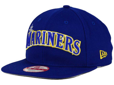 Seattle Mariners New Era MLB XL Script 9FIFTY Snapback Cap