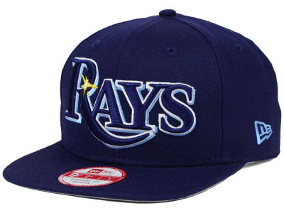 Tampa Bay Rays New Era MLB XL Script 9FIFTY Snapback Cap