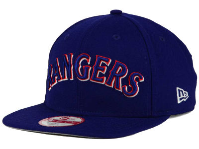 Texas Rangers New Era MLB XL Script 9FIFTY Snapback Cap
