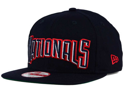 Washington Nationals New Era MLB XL Script 9FIFTY Snapback Cap