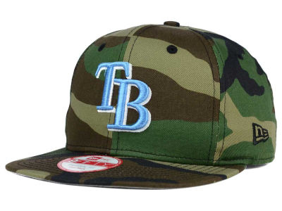 Tampa Bay Rays New Era MLB State Clip 9FIFTY Snapback Cap