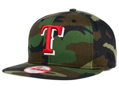 Texas Rangers New Era MLB State Clip 9FIFTY Snapback Cap