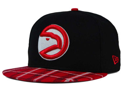 Atlanta Hawks New Era NBA HWC Team Plaid 9FIFTY Snapback Cap