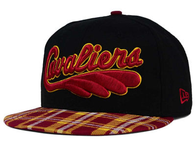 Cleveland Cavaliers New Era NBA HWC Team Plaid 9FIFTY Snapback Cap