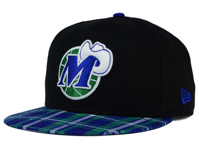 Dallas Mavericks New Era NBA HWC Team Plaid 9FIFTY Snapback Cap