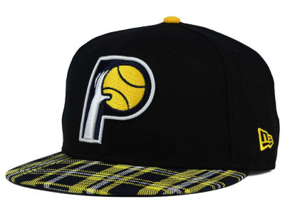 Indiana Pacers New Era NBA HWC Team Plaid 9FIFTY Snapback Cap