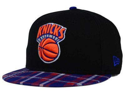 New York Knicks New Era NBA HWC Team Plaid 9FIFTY Snapback Cap