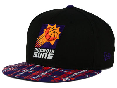 Phoenix Suns New Era NBA HWC Team Plaid 9FIFTY Snapback Cap
