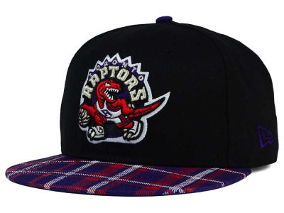 Toronto Raptors New Era NBA HWC Team Plaid 9FIFTY Snapback Cap