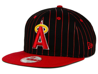 Los Angeles Angels New Era MLB Vintage Pinstripe 9FIFTY Snapback Cap