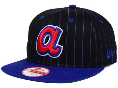 Atlanta Braves New Era MLB Vintage Pinstripe 9FIFTY Snapback Cap