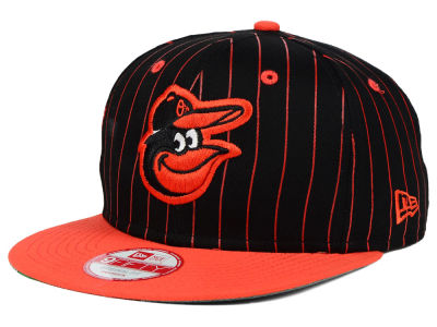 Baltimore Orioles New Era MLB Vintage Pinstripe 9FIFTY Snapback Cap