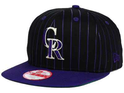 Colorado Rockies New Era MLB Vintage Pinstripe 9FIFTY Snapback Cap