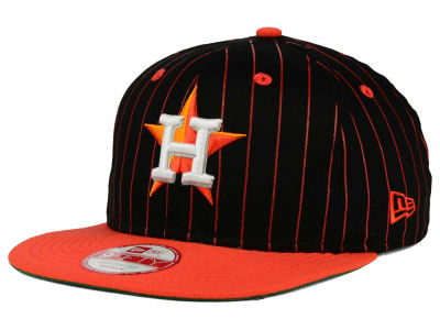Houston Astros New Era MLB Vintage Pinstripe 9FIFTY Snapback Cap