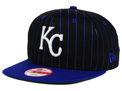Kansas City Royals New Era MLB Vintage Pinstripe 9FIFTY Snapback Cap