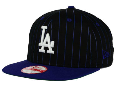Los Angeles Dodgers New Era MLB Vintage Pinstripe 9FIFTY Snapback Cap