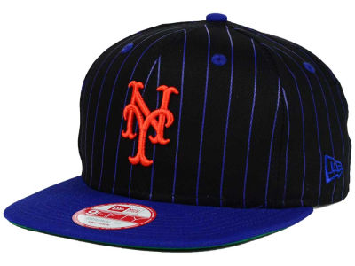New York Mets New Era MLB Vintage Pinstripe 9FIFTY Snapback Cap