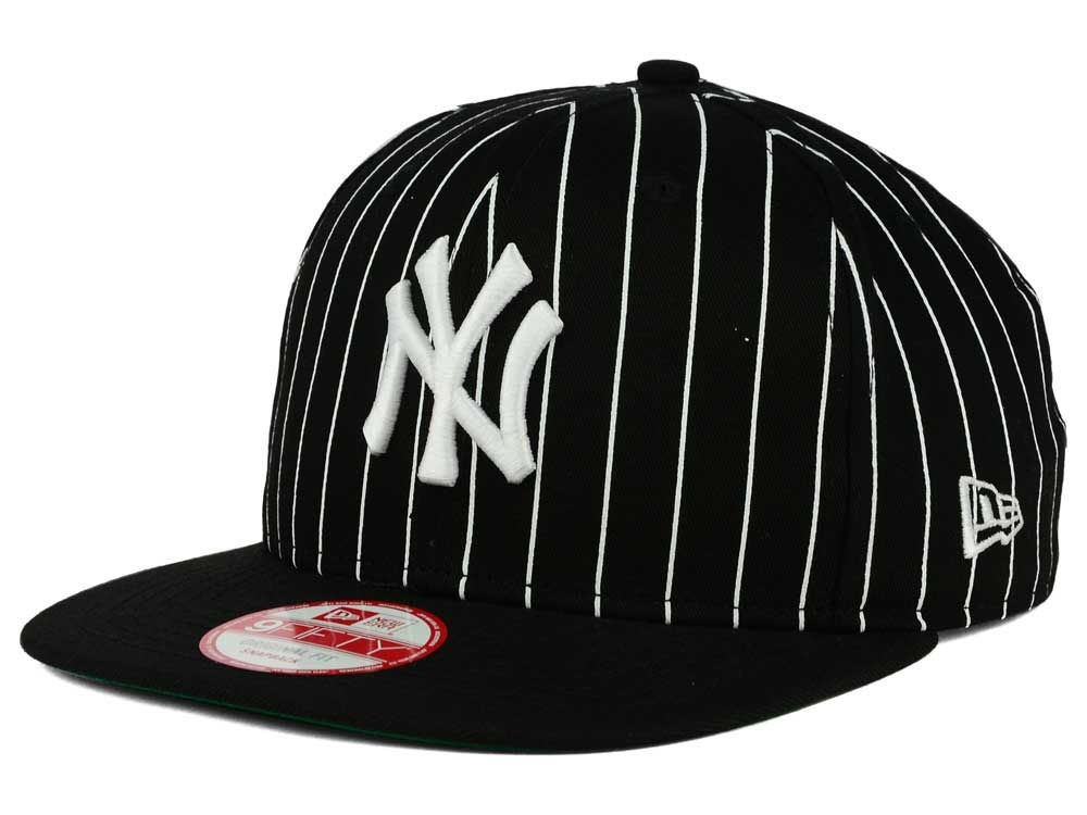 9e06fec12c8151 ... new york yankees new era mlb vintage pinstripe 9fifty snapback cap ...
