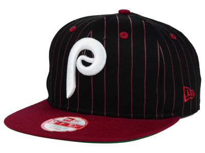 Philadelphia Phillies New Era MLB Vintage Pinstripe 9FIFTY Snapback Cap