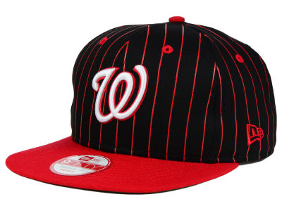 Washington Nationals New Era MLB Vintage Pinstripe 9FIFTY Snapback Cap