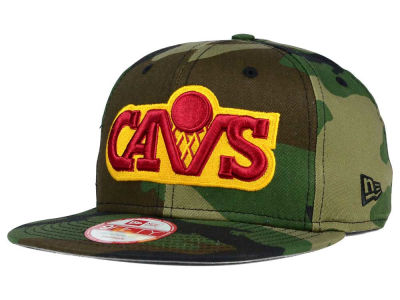 Cleveland Cavaliers New Era NBA HWC State Clip 9FIFTY Snapback Cap