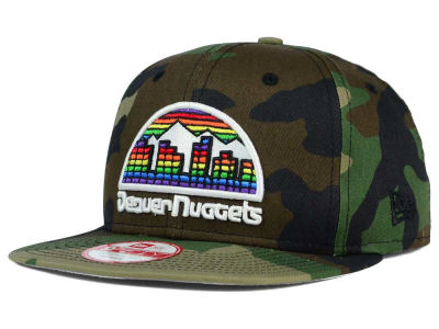 Denver Nuggets New Era NBA HWC State Clip 9FIFTY Snapback Cap
