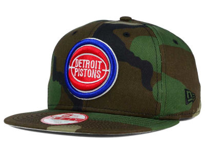 Detroit Pistons New Era NBA HWC State Clip 9FIFTY Snapback Cap