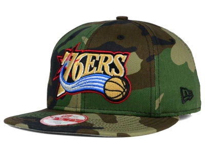 Philadelphia 76ers New Era NBA HWC State Clip 9FIFTY Snapback Cap
