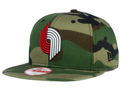 Portland Trail Blazers New Era NBA HWC State Clip 9FIFTY Snapback Cap