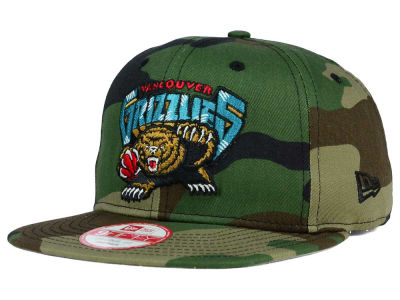 Vancouver Grizzlies New Era NBA HWC State Clip 9FIFTY Snapback Cap