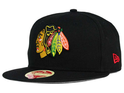 Chicago Blackhawks New Era NHL Classic Wool 59FIFTY Cap