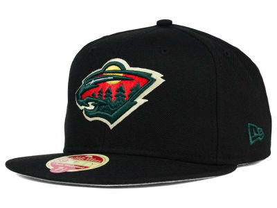 Minnesota Wild New Era NHL Classic Wool 59FIFTY Cap