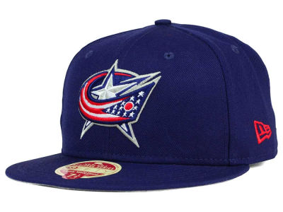 Columbus Blue Jackets New Era NHL Classic Wool 59FIFTY Cap