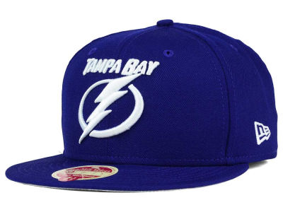 Tampa Bay Lightning New Era NHL Classic Wool 59FIFTY Cap