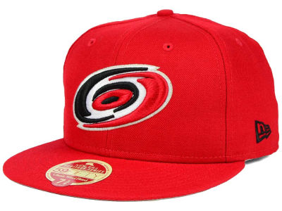 Carolina Hurricanes New Era NHL Classic Wool 59FIFTY Cap