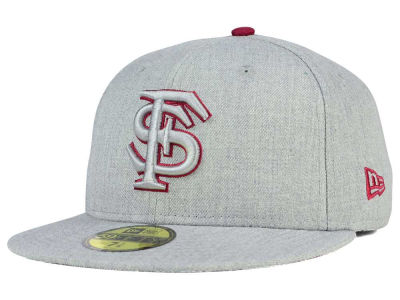 Florida State Seminoles New Era NCAA Heather League Basic 59FIFTY Cap
