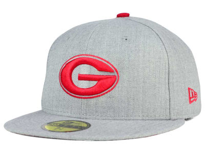 Georgia Bulldogs New Era NCAA Heather League Basic 59FIFTY Cap