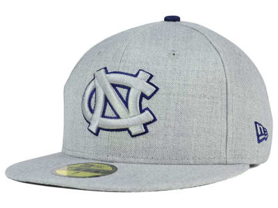 North Carolina Tar Heels New Era NCAA Heather League Basic 59FIFTY Cap
